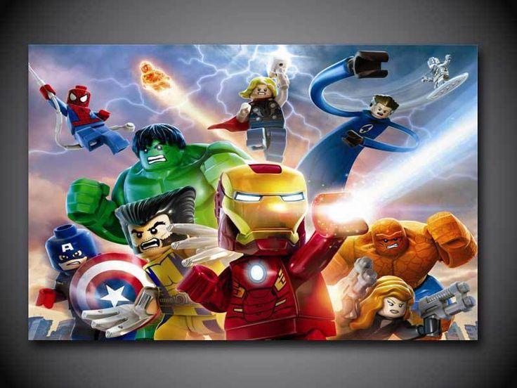 23 best Super Heroes Art images on Pinterest | Super hero art ...