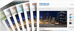 PressBlog responsive news theme