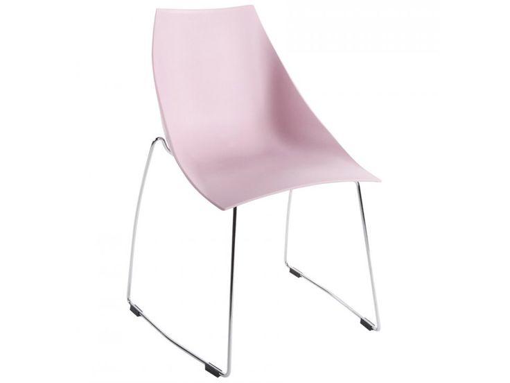 Krzesło Mehe różowe — Krzesła Kokoon Design — sfmeble.pl