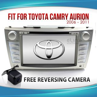 "8"" Toyota Camry Aurion Car LCD DVD GPS Radio Player Stereo Bluetooth IPOD"