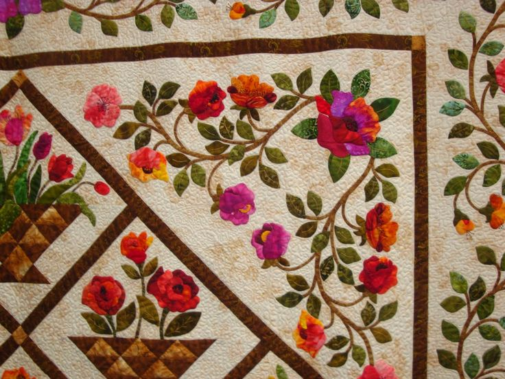 Line Art Quilt Pattern Holly Hickman : Best images about applique flowers on pinterest