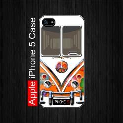 Hippie Orange Volkswagen Camper Van iPhone 5 Case. $22.5