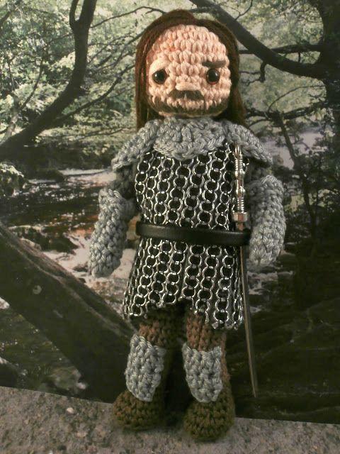Game Of Thrones Amigurumi Pattern Free : 174 best images about GOT Cross Stitch, Perler & Crochet ...