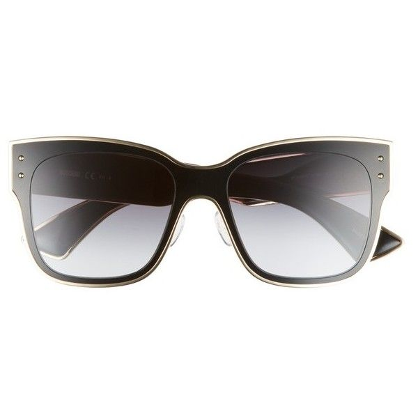 d8bfd32aff Women s Moschino 55Mm Cat Eye Sunglasses ( 320) ❤ liked on Polyvore  featuring accessories