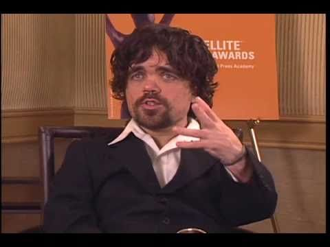 Peter Dinklage interview after winning Satellite Awards for Outstanding Talent for his role in The Station Agent