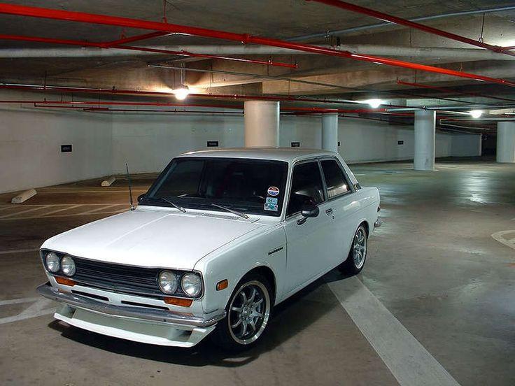 White Datsun 1600