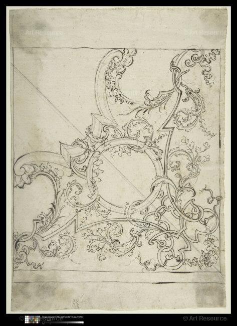 , Architektonické kreslení & Design, Strop, pero a inkoust