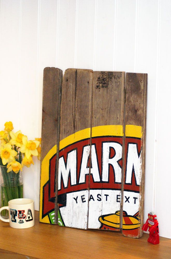 Love it! Marmite art #projectza #capetown #southafrica