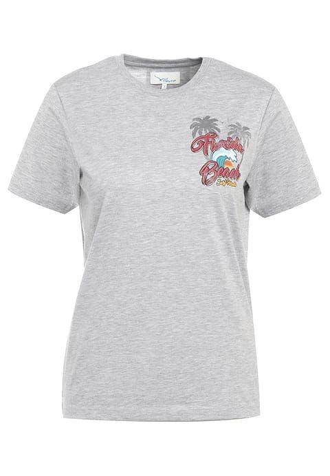 TWINTIP PALM TREES - T-Shirt print - mid grey melange für 11,95 € (07.08.17) versandkostenfrei bei Zalando bestellen.