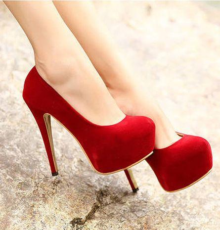 Super Stiletto | Red Pumps.
