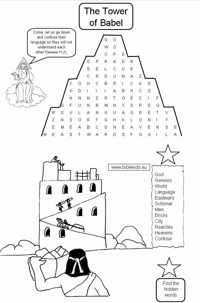Tower Of Babel Coloring Page Fresh 25 Best Vsh Vavilonskaya Bashnya