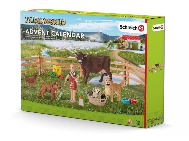 Calendrier de l'avent #schleich  #noel #cadeaudenoel #enfants #calendrierdelavent #figurine