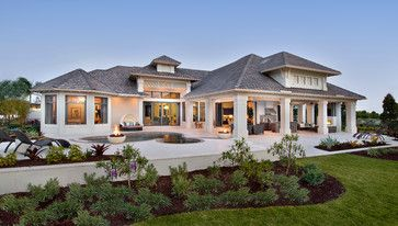 Rear elevation - traditional - Exterior - Miami - Weber Design Group, Inc.