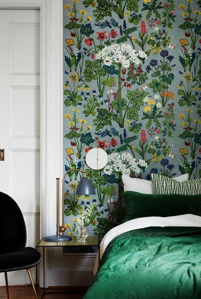 Cool... Vintage Floral Wallpapers Uk! | Bedroom decor, Decor ...