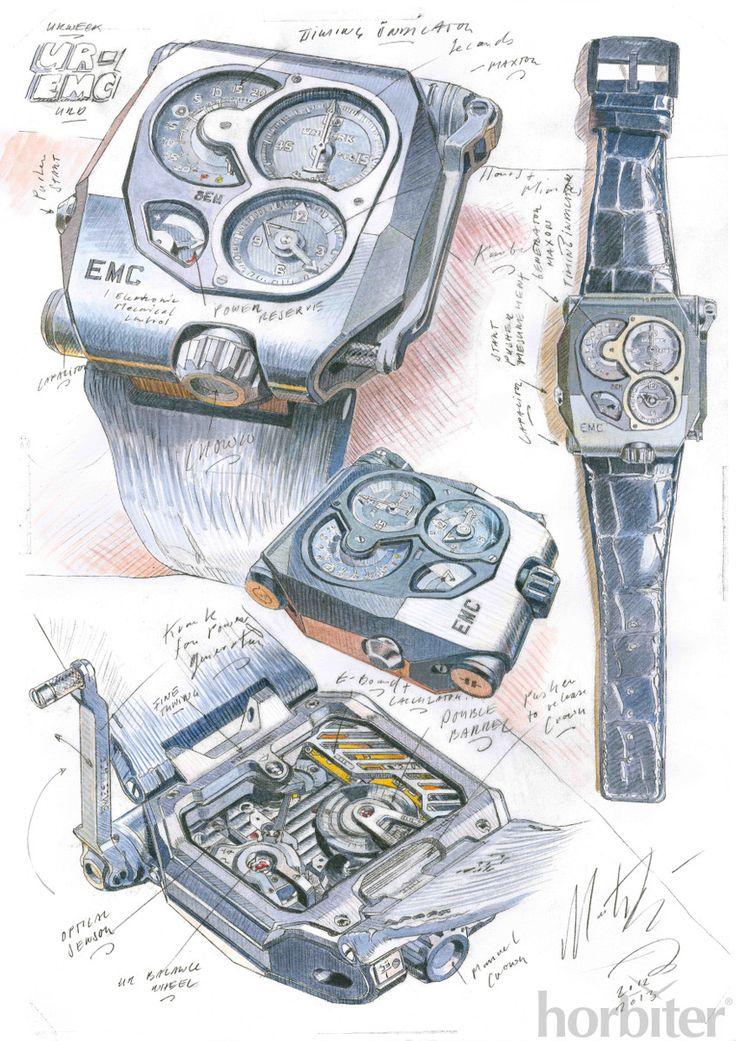 Urwerk EMC (sketches)