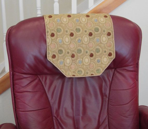 Recliner Chair Headrest Cover by ChairFlair on Etsy & 23 best Headrest Covers images on Pinterest | Recliners Recliner ... islam-shia.org