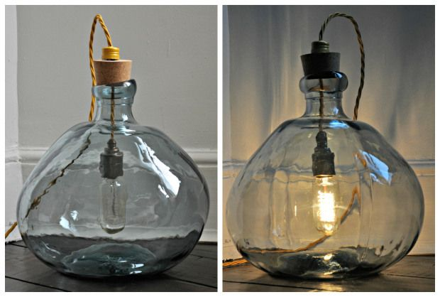 DIY Lamp small vase