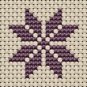 Free Sampler Patterns: flower