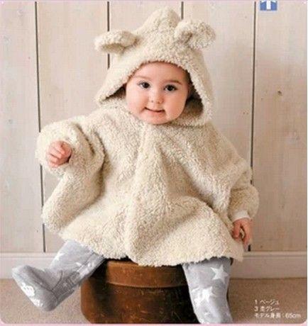 Livraison gratuite quatre saisons mignonne nouveau-né manteau bébé vêtements e …