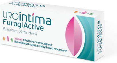UROINTIMA FURAGIACTIVE 50mg x 30 pills urine infection