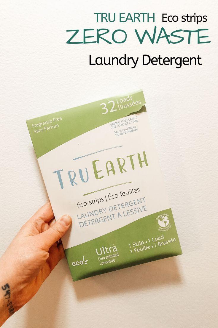 Tru Earth Eco Friendly Zero Waste Laundry Detergent Sustainable