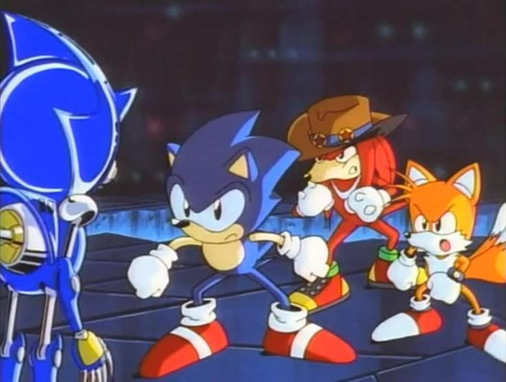 Sonic the Hedgehog The Movie (1999) - This movie kind of doesn't make sense but when i was little this was the greatest movie known to mankind.