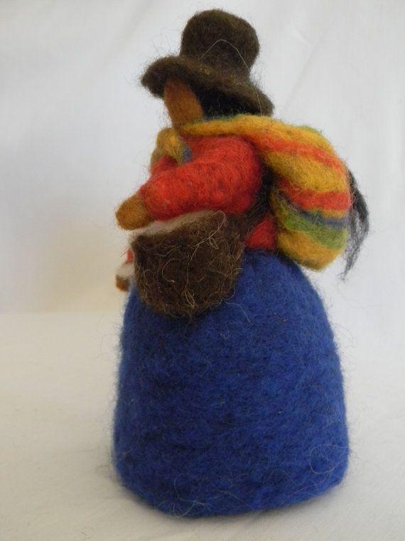Marioneta de la derecha peruana por FeltedWonders en Etsy