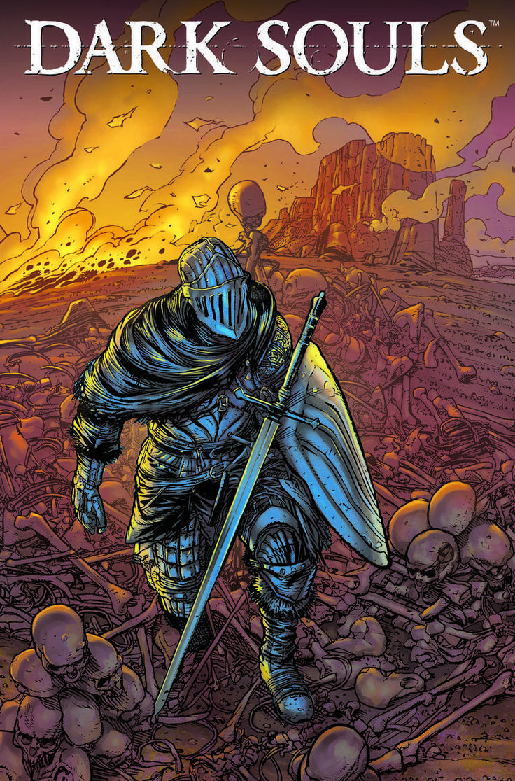 Dark Souls receberá história em quadrinhos oficial - GameHall Network