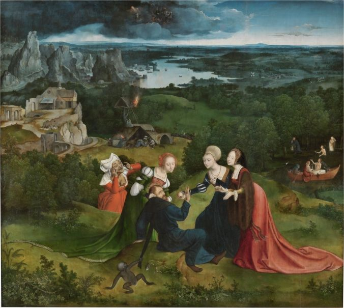 Las tentaciones de San Antonio Abad - Colección - Museo Nacional del Prado