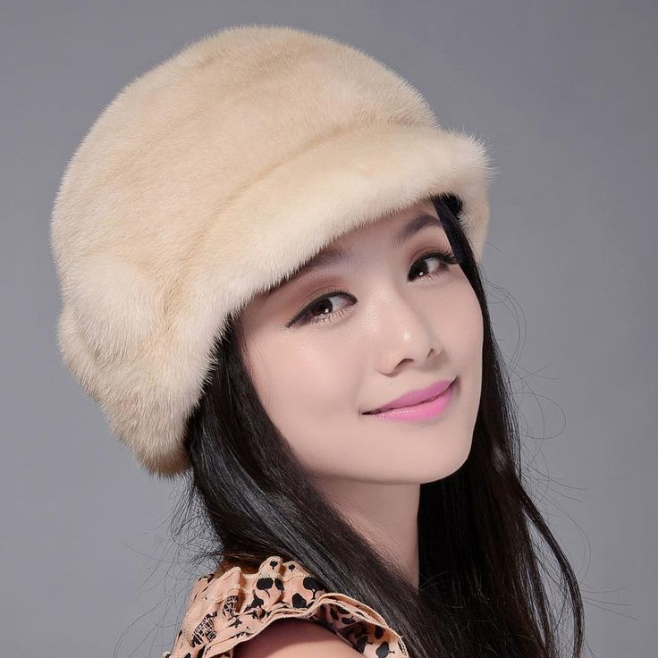 2016 меховая шапка мода норки волос бенн шляп зима снежная шапка