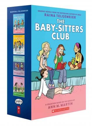 Baby-Sitters Club Graphix #1-4 Box Set : Ann M Martin : 9781338118988   The baby-sitters are back in this collectable box set of the bestselling graphic novels by Ann M. Martin and Raina Telgemeier!