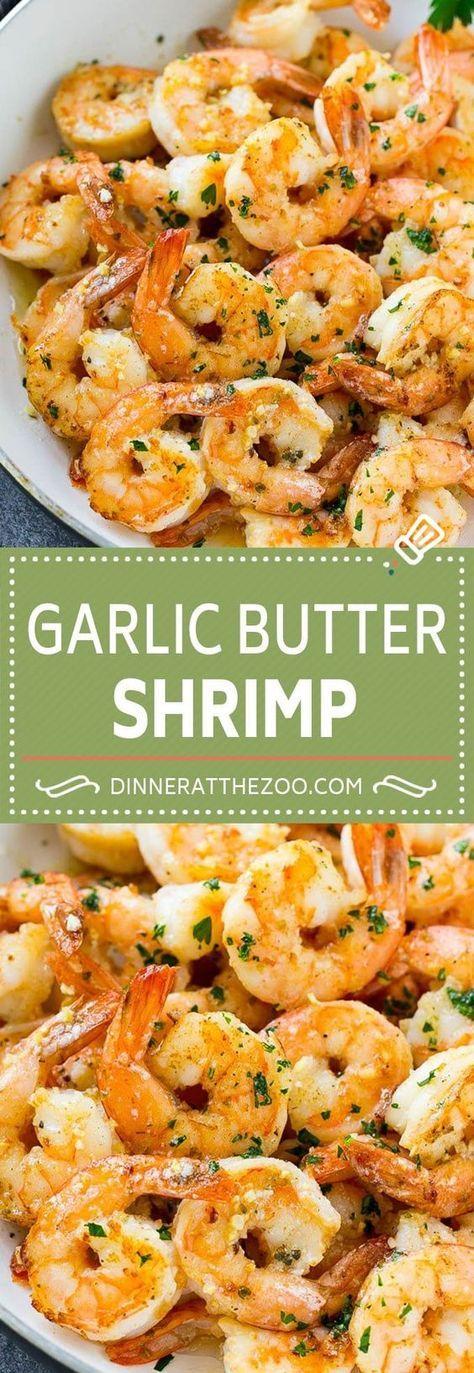 Knoblauch Butter Shrimps | Einfaches Garnelen Rezept | Sautierte Garnelen #Shrimp #Knoblauch #Butt …   – Fab food & drink