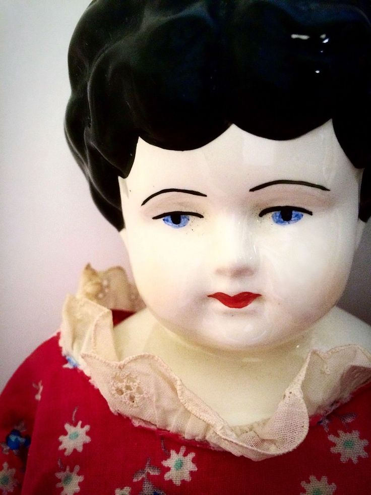 Genuine Vintage Signed Mark Farmer Porcelain China Head ...
