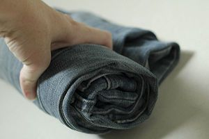 Roll clothes for better packing. http://www.wikihow.com/Roll-Clothes