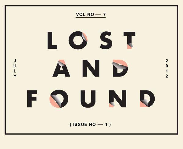 Peeling Type - Lost and Found Volume 7 Issue 1 #PeelingType #LostandFound