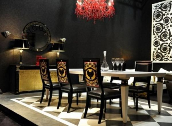 41 Luxurious Black And Gold Dining Room Ideas For Inspiration easy