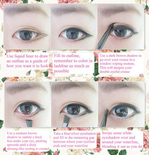 see full tutorial for ulzzang makeup [here]