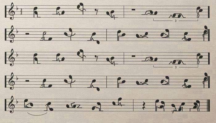 Amor ao som de uma melodia