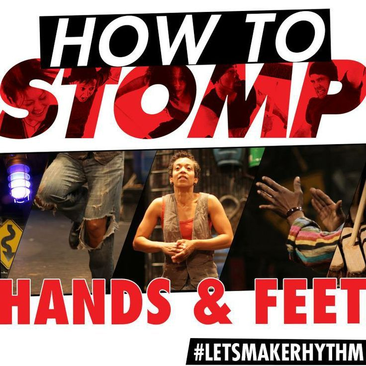 How to make rhythm using only your hands and feet. #LetsMakeRhythm