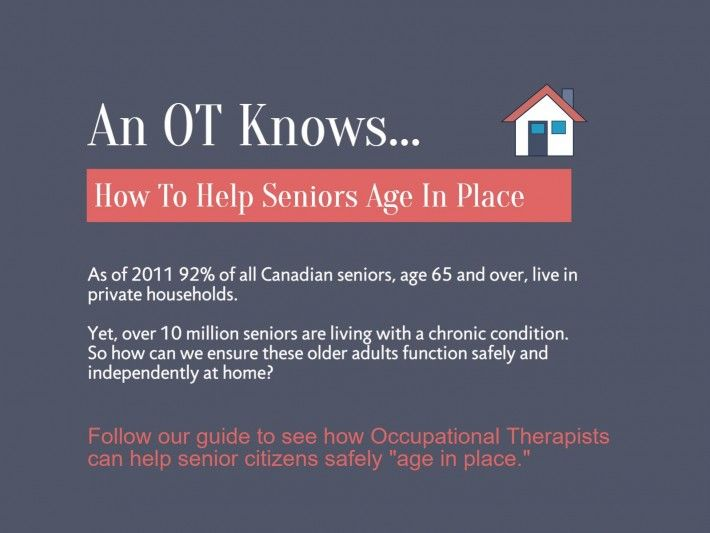 An OT Knows How To Help Seniors Age In Place
