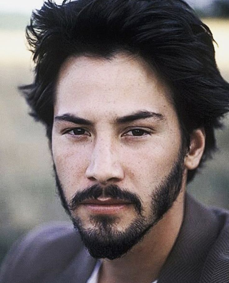Patchy beard keanu reeves