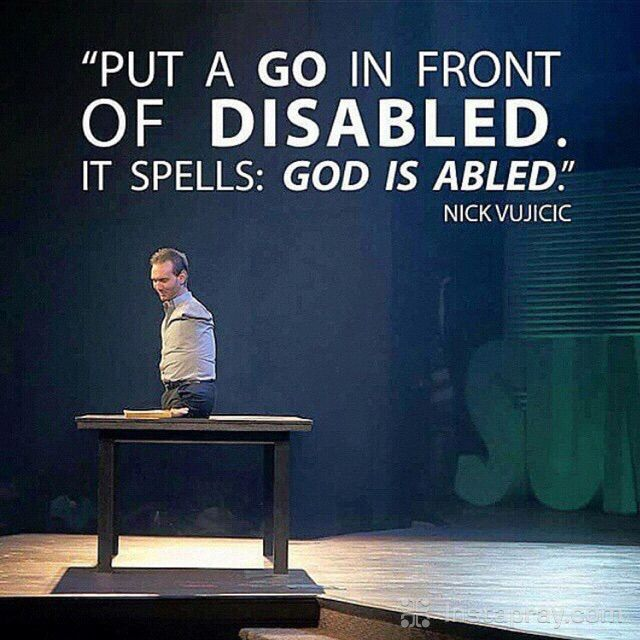 1000+ Images About Nick Vujicic On Pinterest