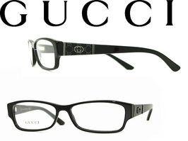 GUCCIメガネフレームブラックグッチ眼鏡めがねアイウェアGUC-GG-3201-807WN0054