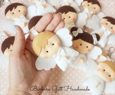 Barbara Handmade...: Aniołki na Pierwszą Komunię / Angels for First Communion