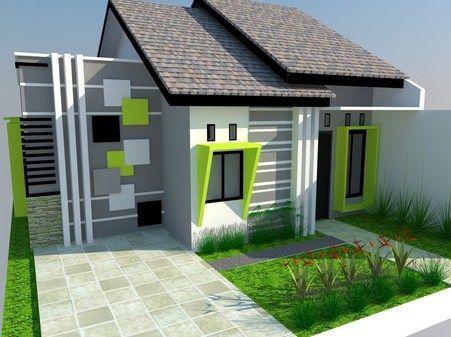 60 Gambar Rumah Minimalis 1 Lantai Tampak Depan dan Warna Cat Pilihan…
