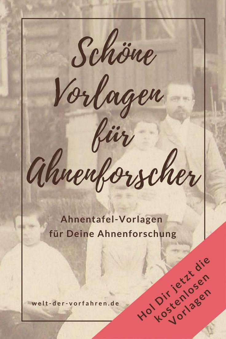 47 best Vordrucke & Vorlagen | Ahnenforschung images on Pinterest ...