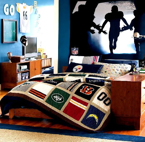 football boys bedroom design - Guys Bedroom Decor
