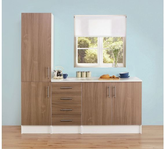 New Buy Athina Piece Fitted Kitchen Unit Package Oak at Argos co uk