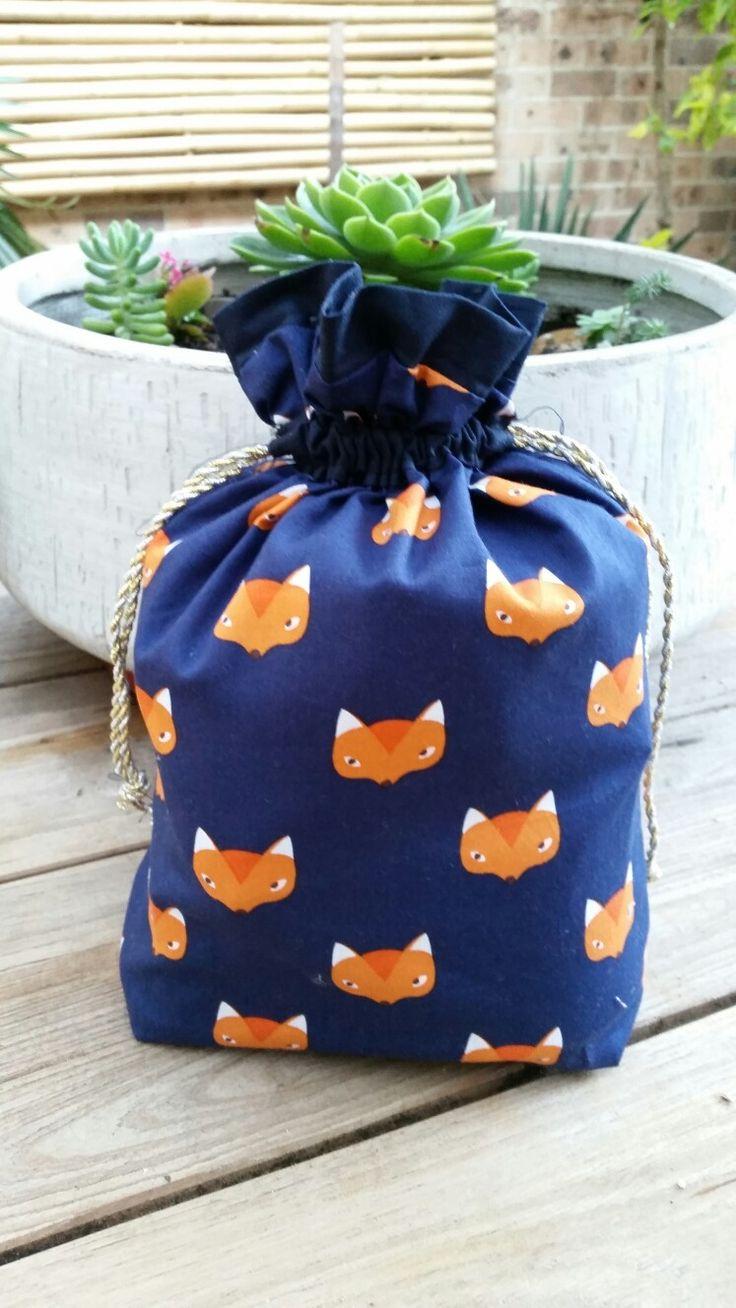 Blue Foxy Dilly Bag (Debbie Shore)