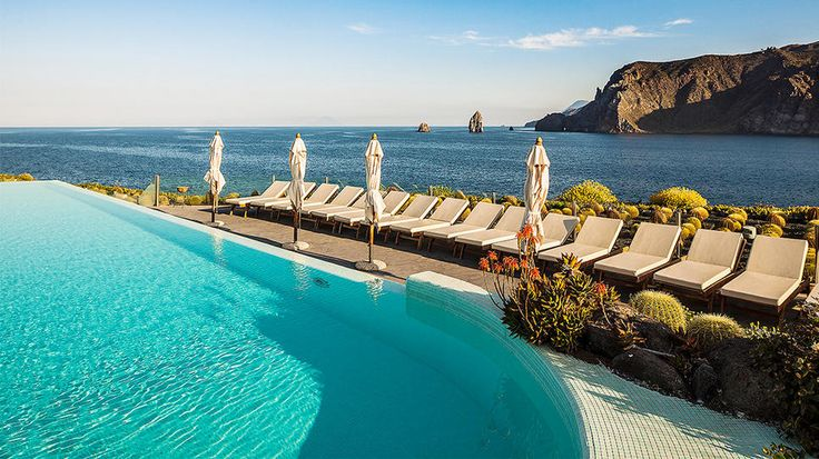Vulcano Island, ItalyVulcano Islands, Therasia Resorts, Islands Italy, Daily Escape, Quiet Islands, Visit, Travel, Places, Infinity Pools